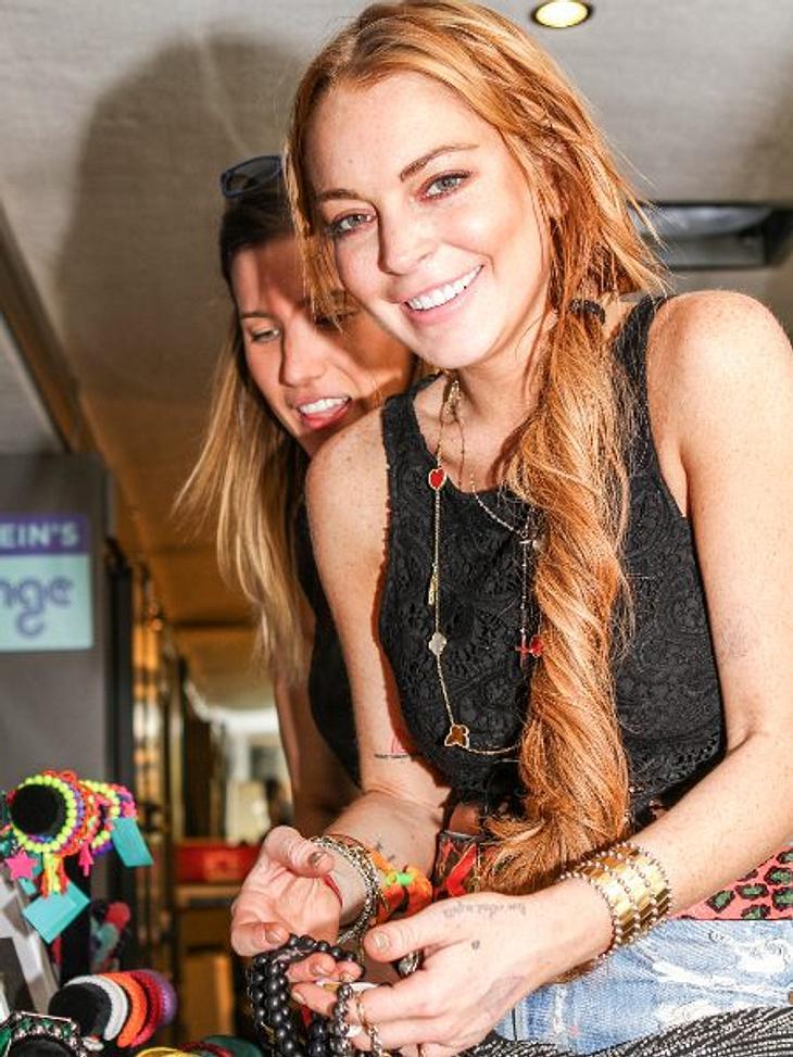 Lindsay Lohan hat eingesehen, dass sie kein Adderall mehr nehmen darf.