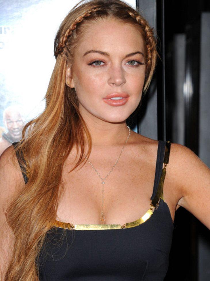 Lindsay Lohan flüchtet nach Europa