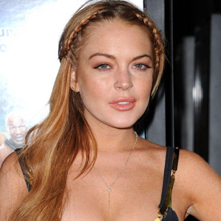 Lindsay Lohan: Sie wurde entlassen.