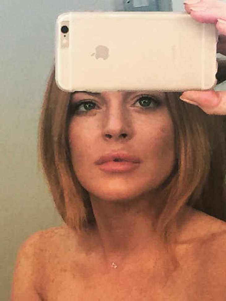 Lindsay Lohan hat sich auf Instagram wieder blamiert.