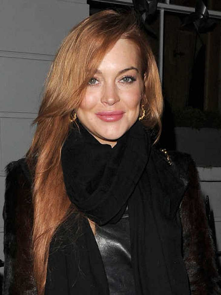 War Lindsay Lohan nie schwanger?