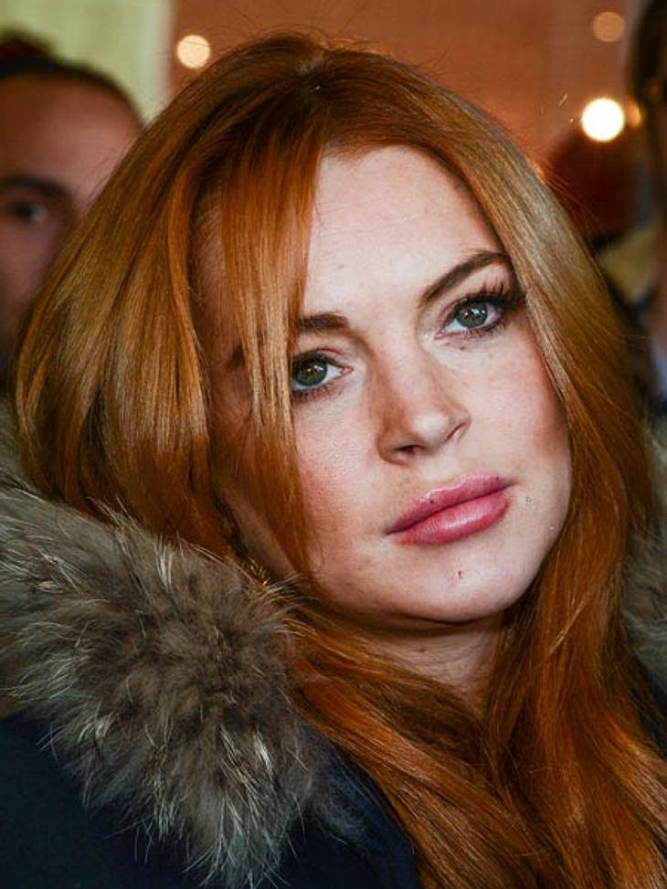 Lindsay Lohan war schwanger und erlitt eine Fehlgeburt.
