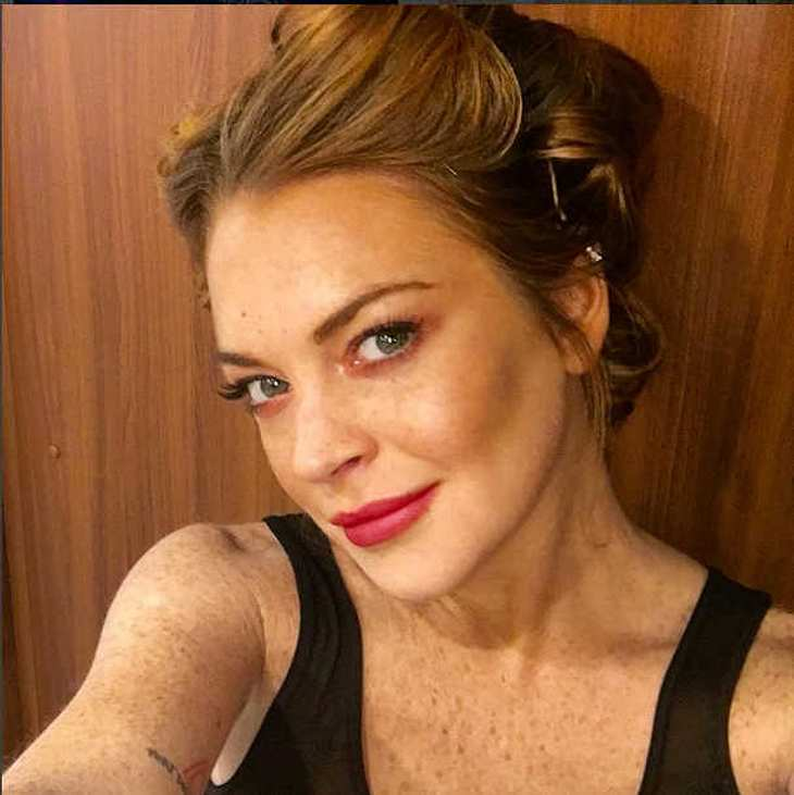 Lindsay Lohan Thanksgiving Shitstorm