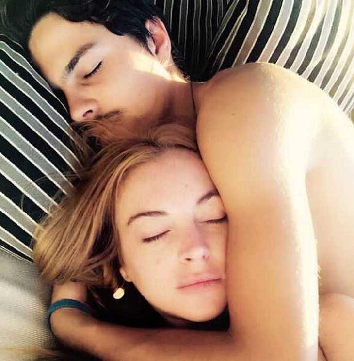 Lindsay Lohan: Liebescomeback mit Egor Tabasov?