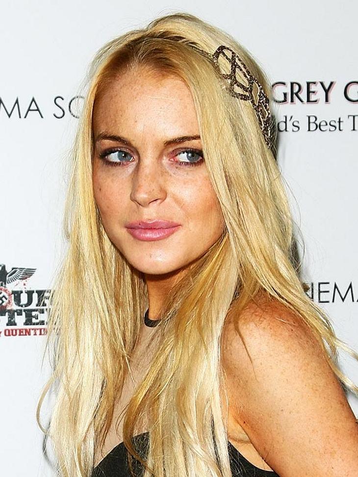 Lindsay Lohan kann sich eine Therapie nicht leisten