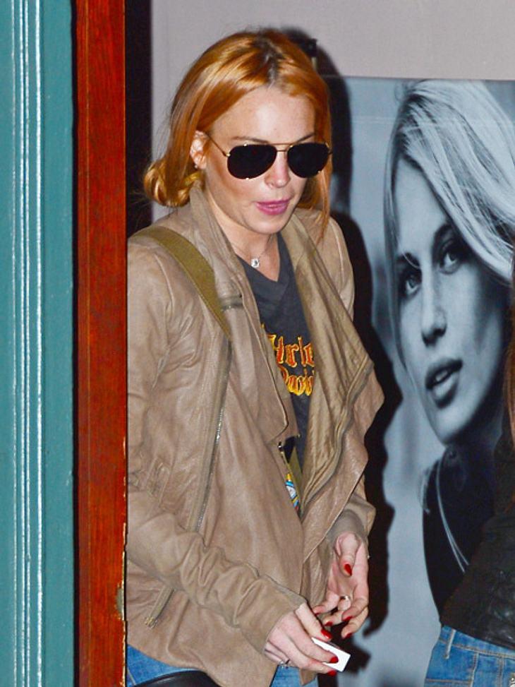 Trinkt Lindsay Lohan wieder?