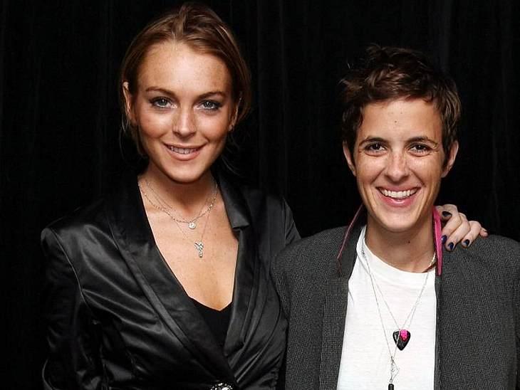 So friedlich ging es bei Lindsay Lohan und Samantha Ronson nicht zu.