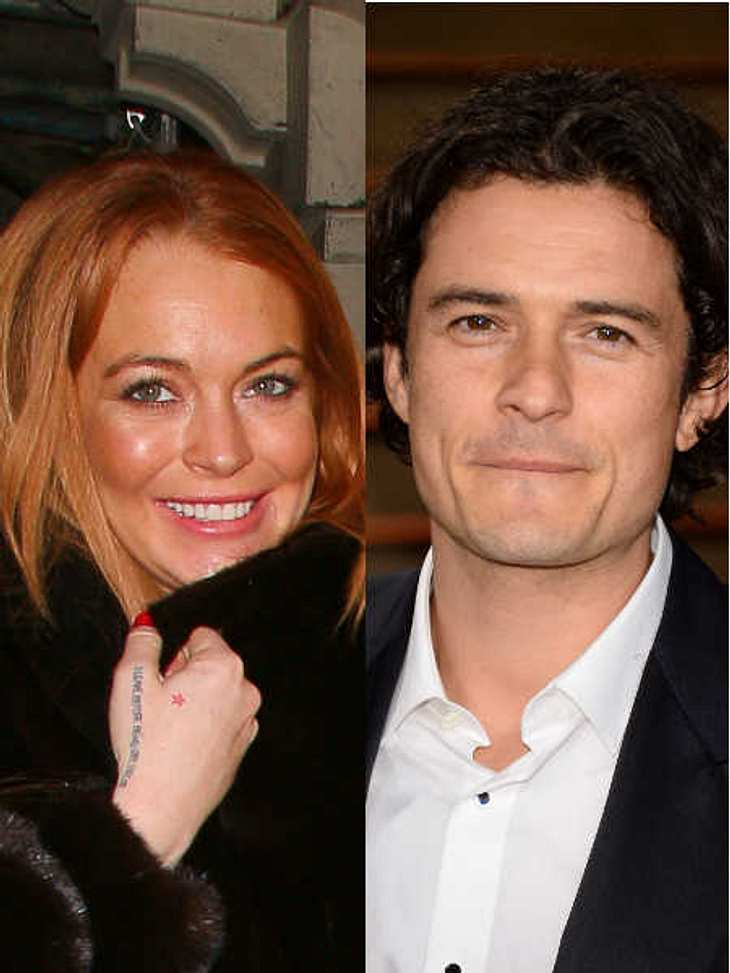 Orlando Bloom steht auf der Sex-Liste von Lindsay Lohan.