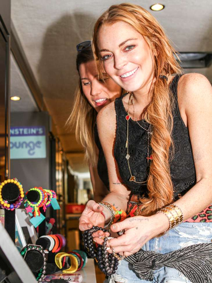 Lindsay Lohan shoppt sich um den Verstand