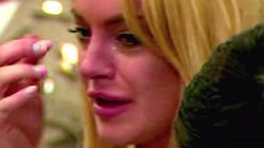 Lindsay Lohan muss für 90 Tage in den Knast: Da hilft auch heulen nicht - Foto: WENN/CNN