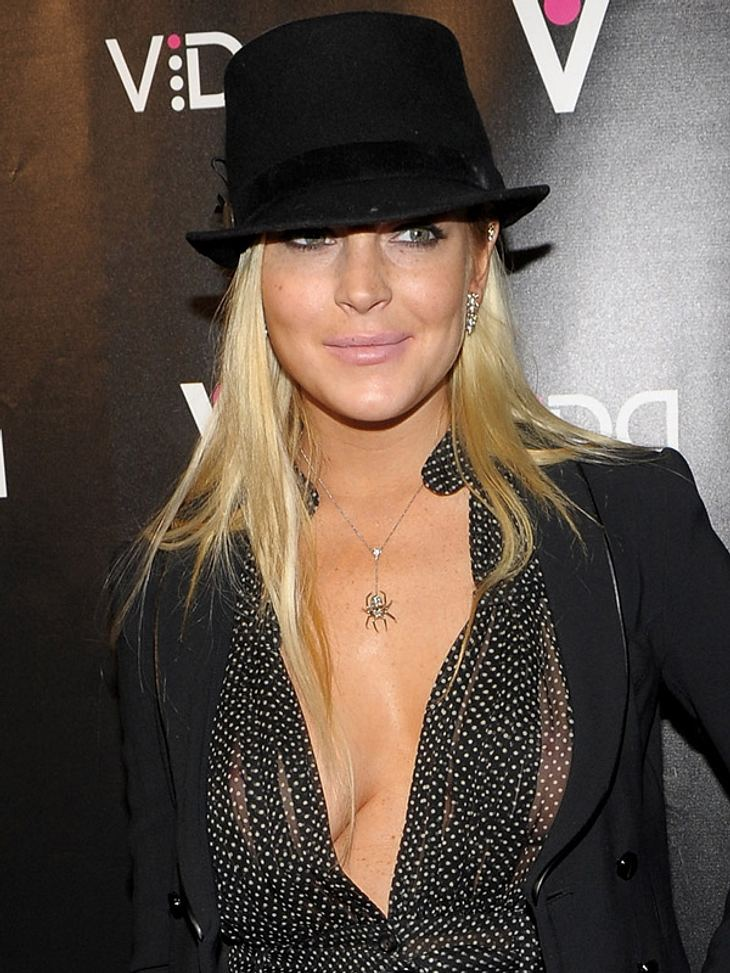 """Lindsay Lohan hat mit ihrem """"Sauber-Frau-Image"""" zu kämpfen"""