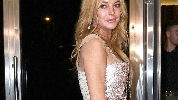 Lindsay Lohan löscht alle Instagram-Fotos