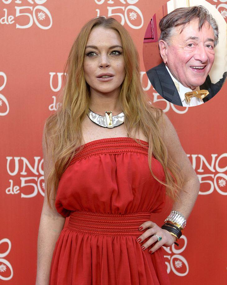 Gericht entscheidet: Lindsay Lohan schuldet Richard Lugner 180.000 Euro