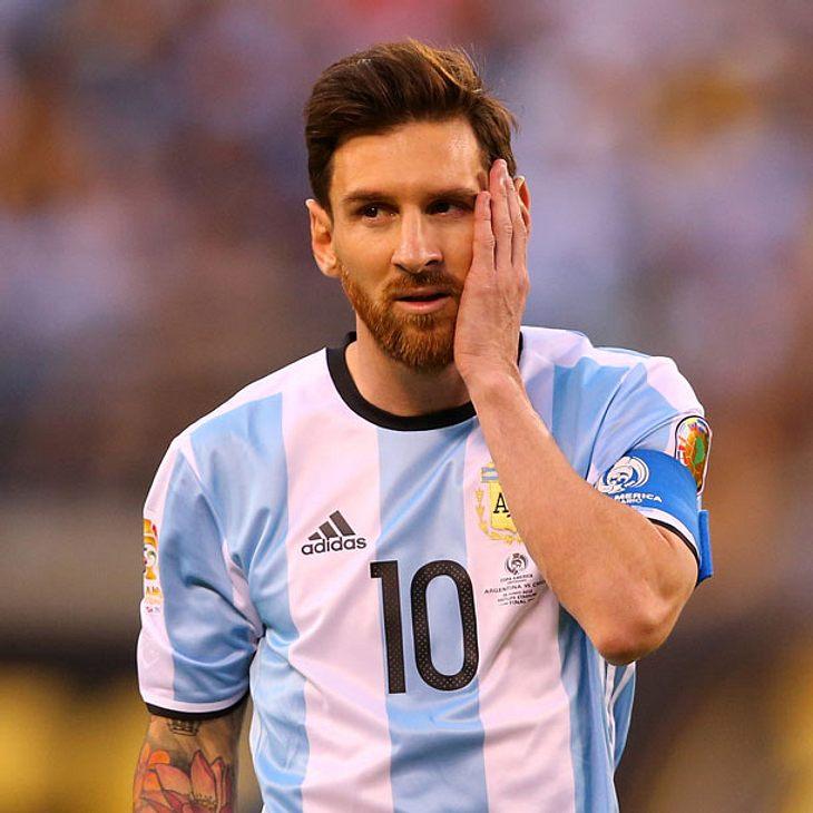 Lionel Messi beendet seine Karriere in der Nationalmannschaft