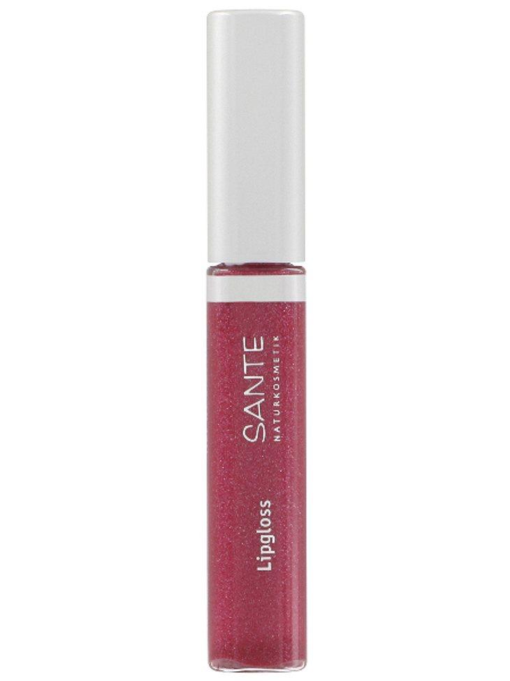Leckeres Lipgloss, was nach Bio-Gojibeeren- und Bio-Granatapfel schmeckt und ökologisch völlig einwandfrei ist? Könnt Ihr haben! Von SANTE, um 8,95 Euro.