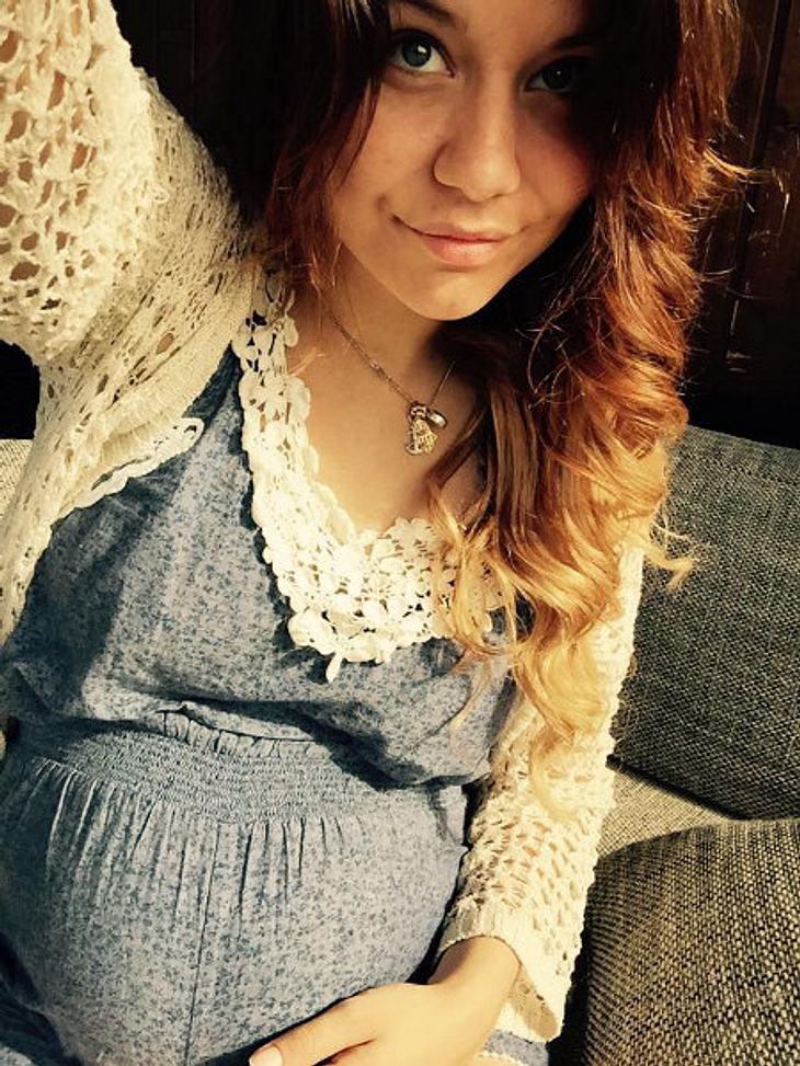Lisa Wohlgemuth ist im sechsten Monat schwanger
