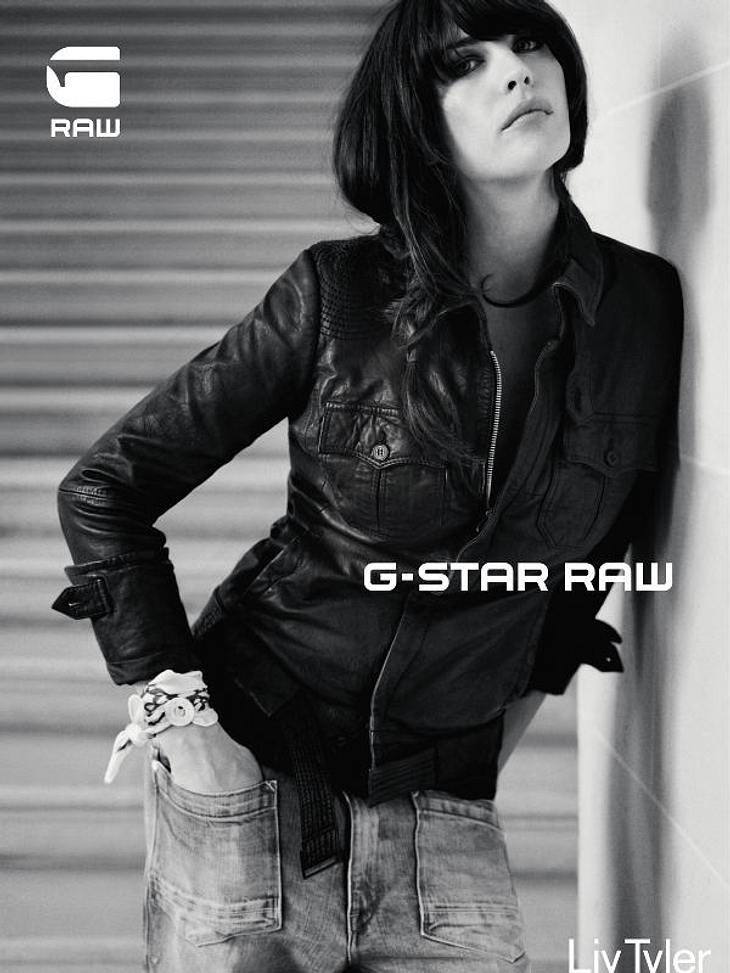 Liv Tyler: Ganz cool posen für G-Star