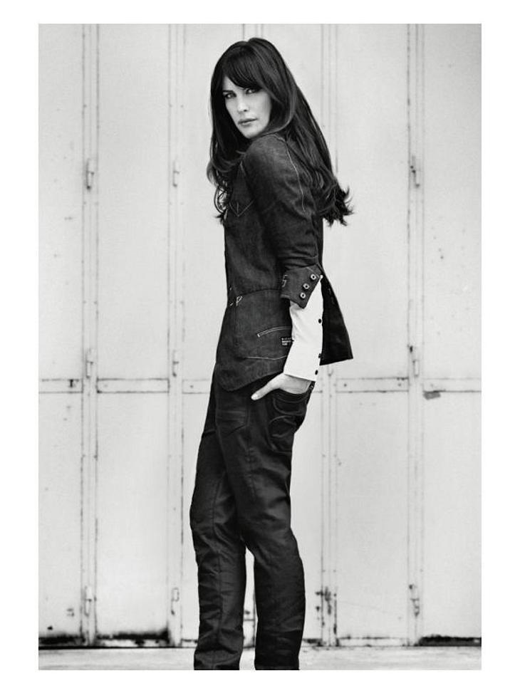 undefined Liv Tyler: Ganz cool posen für G-Star