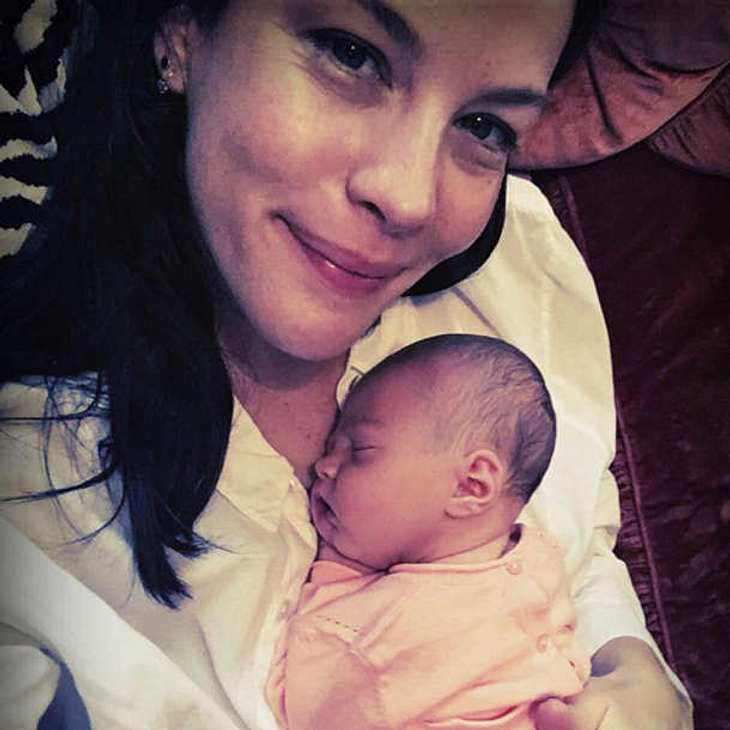 Liv Tyler Baby Foto Lula