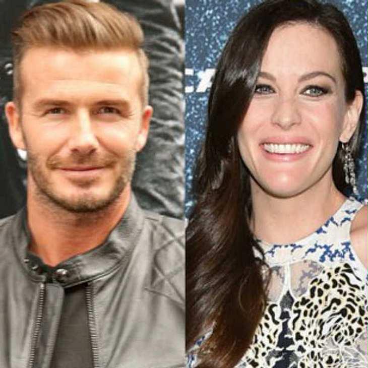 Liv Tyler macht David Beckham zum Patenonkel!