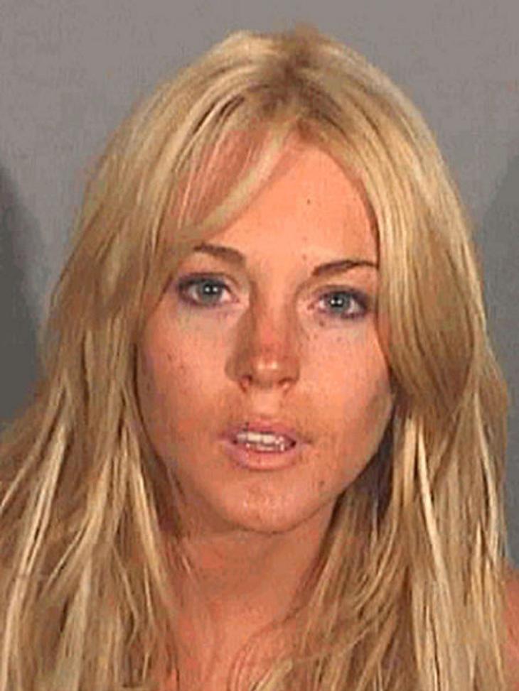 Lindsay Lohan: Hauptsache peinlich!Viele ihrer Eskapaden haben Lindsay Lohan schon in den Knast gebracht. Dort entstehen dann immer diese äußerst vorteilhaften Fotos.