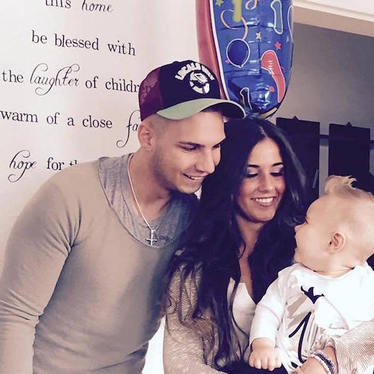 Pietro und Sarah Lombardi mit Sohn Alessio