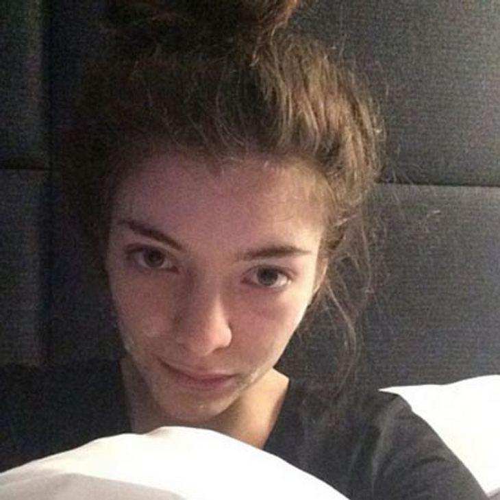 Mit iher Musik wurde sie weltweit berühmt, doch Lorde ist auf dem Boden geblieben.