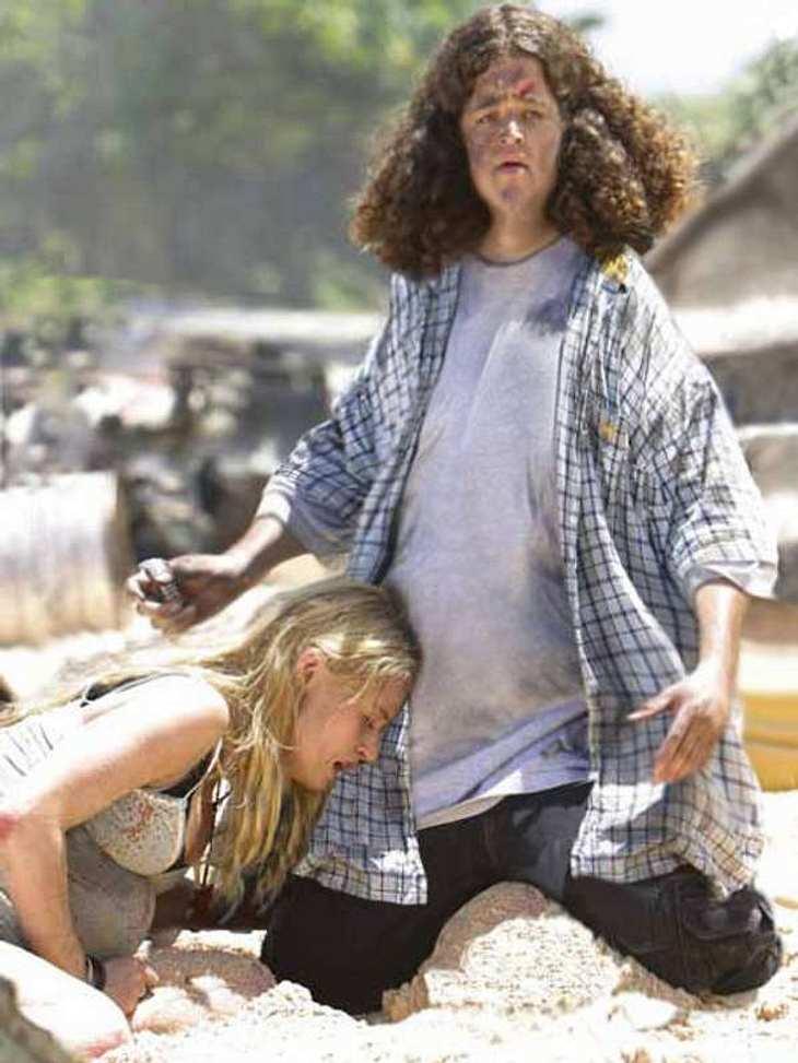 """Der """"Lost""""-Darsteller Jorge Garcia wirkt durch so eine Photoshop-Hungerkur wirklich ziemlich """"lost""""."""