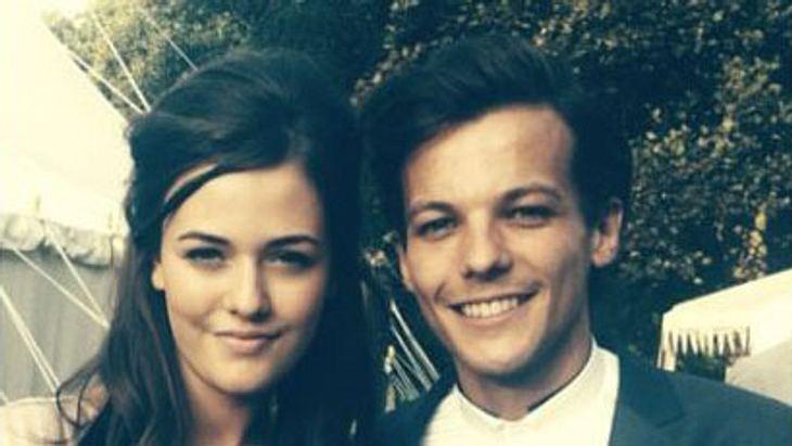 Lous Tomlinson und seine Schwester