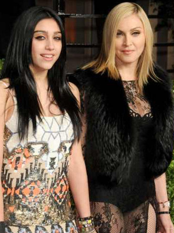 Lourdes und Madonna