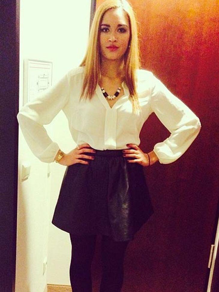 Lovelyn Enebechi ist jetzt blond