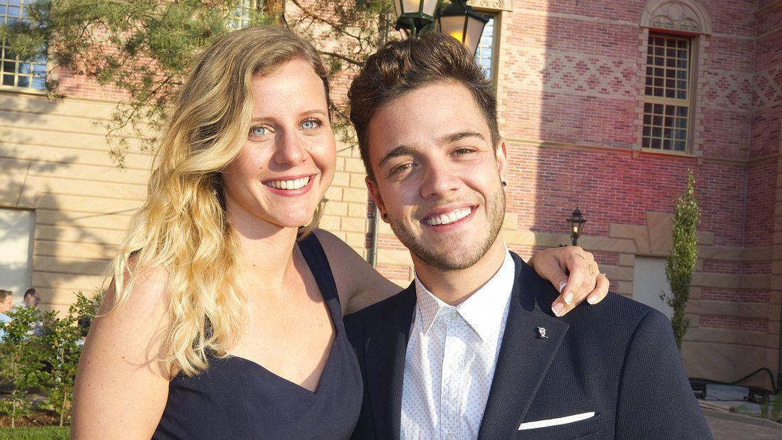 Luca Hänni und Freundin Michèle