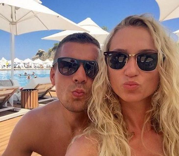 Lukas Podolski: Süße Verkündung!
