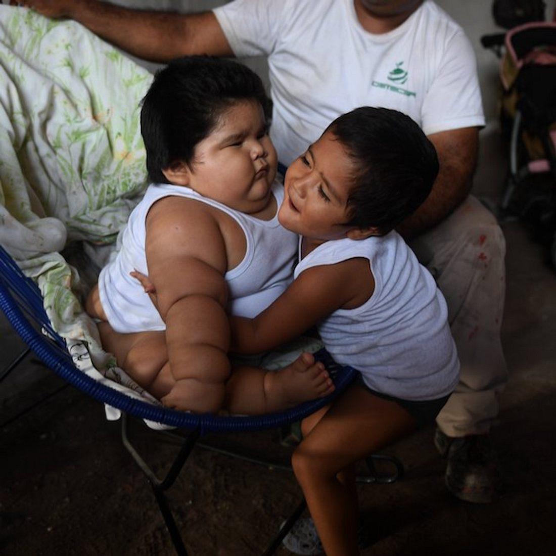 Baby Luis: Mit 10 Monaten wiegt er 28 Kilo