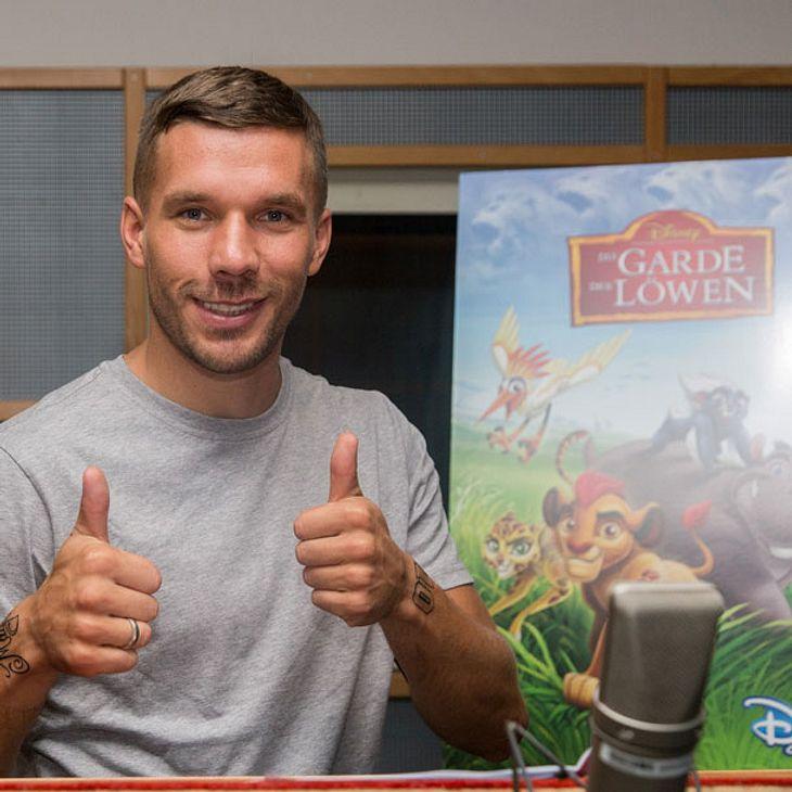 Lukas Podolski wird Sprecher