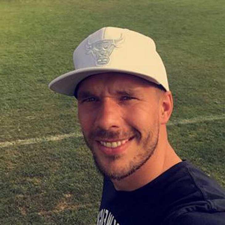 Lukas Podolski: So süß ist Tochter Maya!