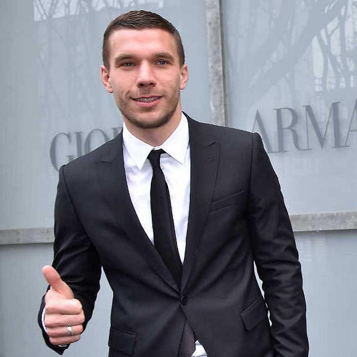 WM-Held Lukas Podolski wird wieder Vater!