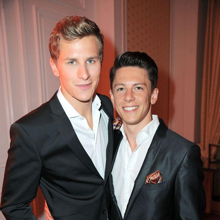Lukas Sauer und sein neuer Freund Henrik