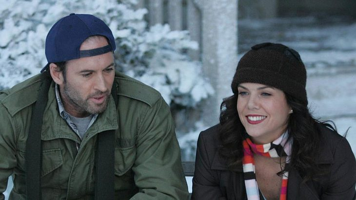 "Lorelai und Luke Danes in ""Gilmore Girls"""