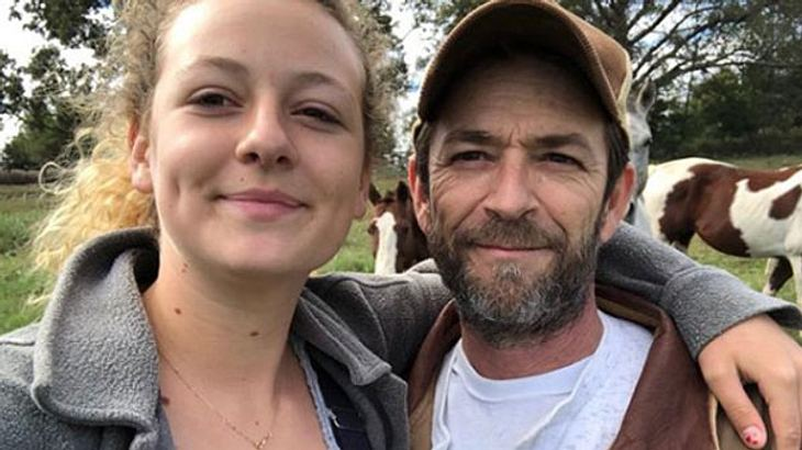 Luke Perry Tochter Sophie