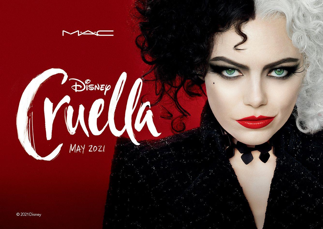 MAC x Disney's Cruella