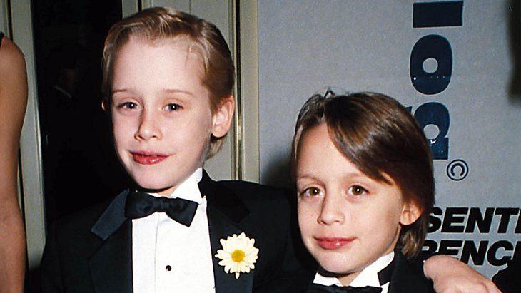 Macaulay Culkin und sein Bruder Kieran Culkin 1991