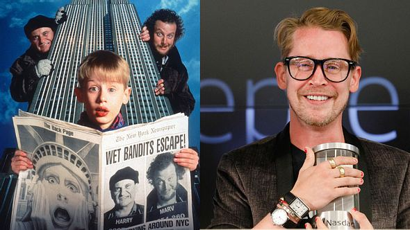 Macaulay Culkin heute und in Kevin - Allein zu Haus - Foto: Wenn/Getty Images