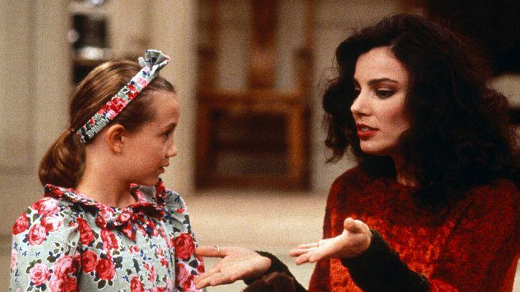 Gracie Sheffield mit ihrer Nanny Fran Fine