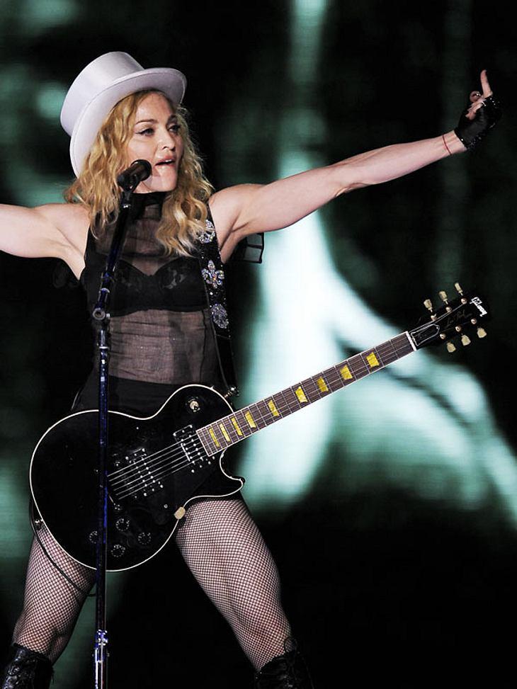 Madonna zieht den Ärger ihrer Fans auf sich.