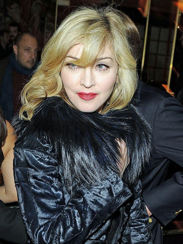 Madonna hält sich nicht an Vereinbarungen