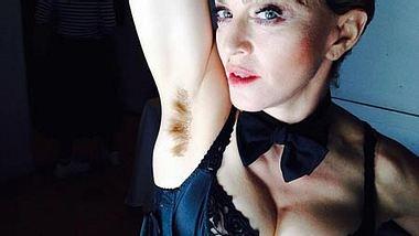 Madonna steht offenkundig auf Körperbehaarung... - Foto: Facebook
