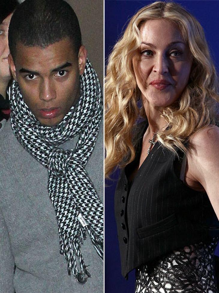 Madonna und Lover Brahim Zaibat