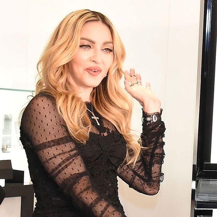 Madonna betrunken