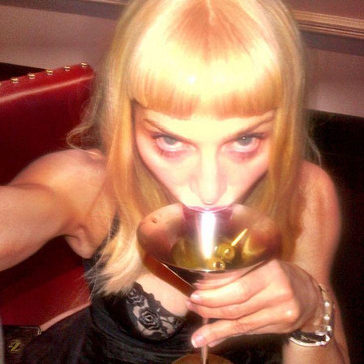 Prost! Madonna ist jetzt auf Instagram